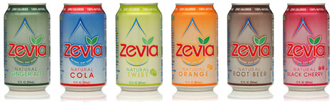 Zevia: All Natural, Stevia Sweetened Beverages